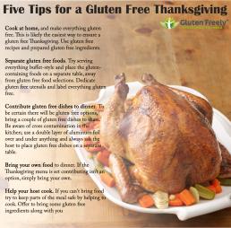 Preparing a GF Thanksgiving Dinner