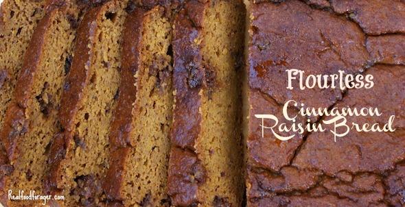 Flourless Cinnamon Bread