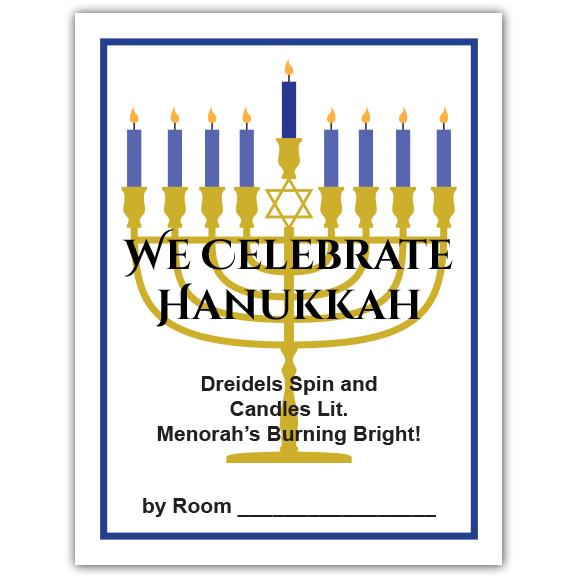 Hanukkah Teacher Packet