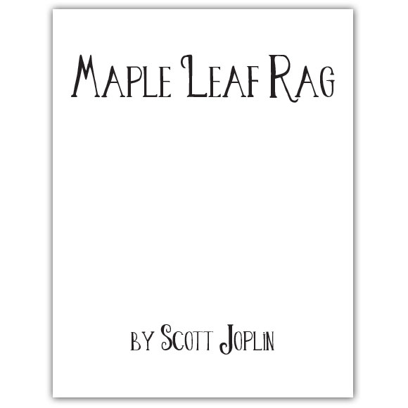 Scott Joplin's Ragtime Music Lesson Plan
