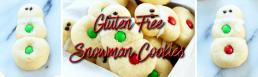 Gluten Free Snowman Cookies