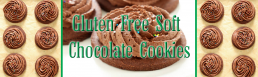 Gluten Free Soft Chocolate Cookies