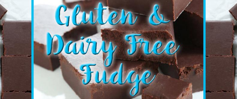Gluten & Dairy Free Fudge