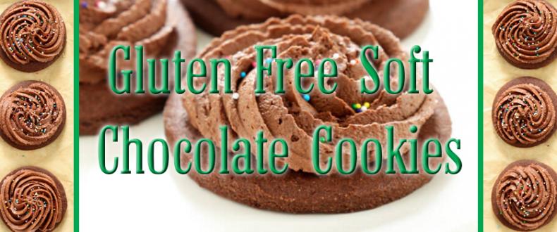 Gluten Free Soft Chocolate Cookies