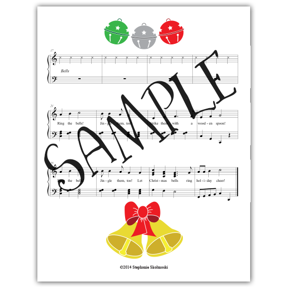Holiday Bells Teacher Packet