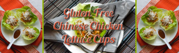 Gluten Free Chinese Chicken Lettuce Cups