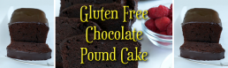Gluten Free Chocolate Pound Cake
