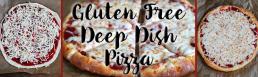 Gluten Free Deep Dish Pizza